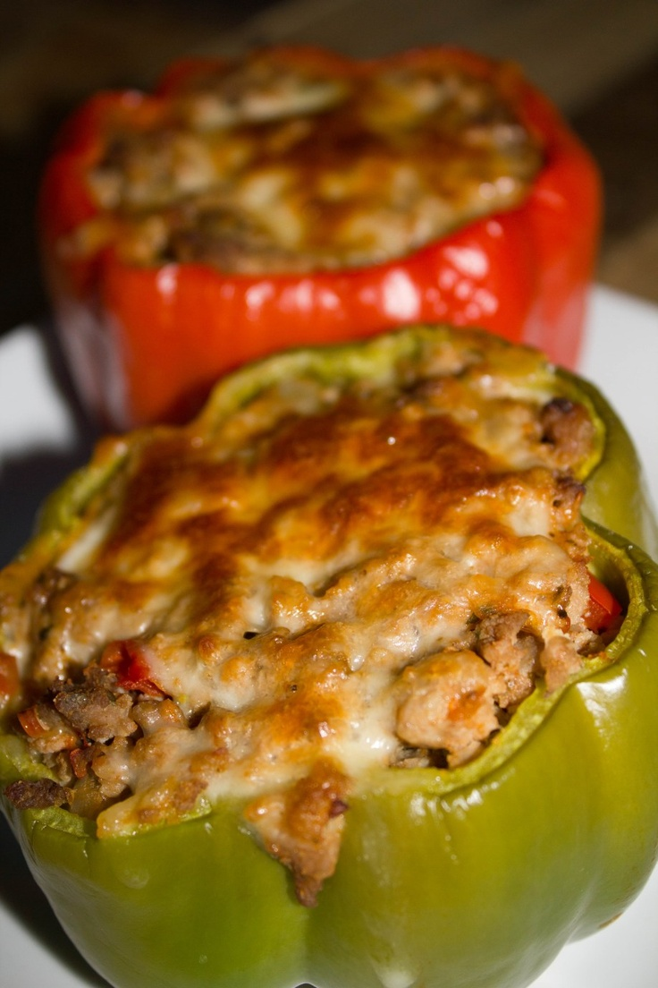 ... Stuffed Peppers on Pinterest | Italian Stuffed Peppers, Stuffed