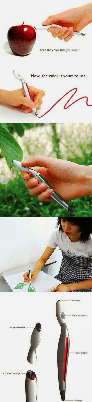 High-Tech Color Scan Pen