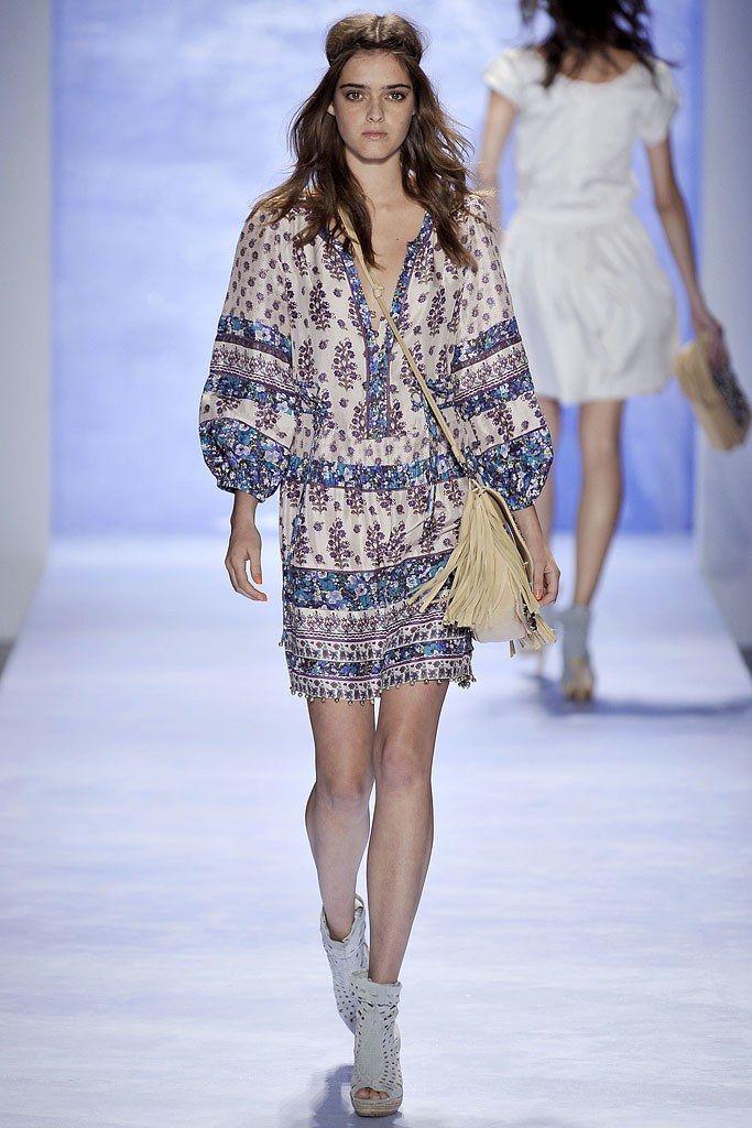 Rebecca Taylor Spring 2009 Ready-to-Wear Fashion Show - Anouk Hagemeijer
