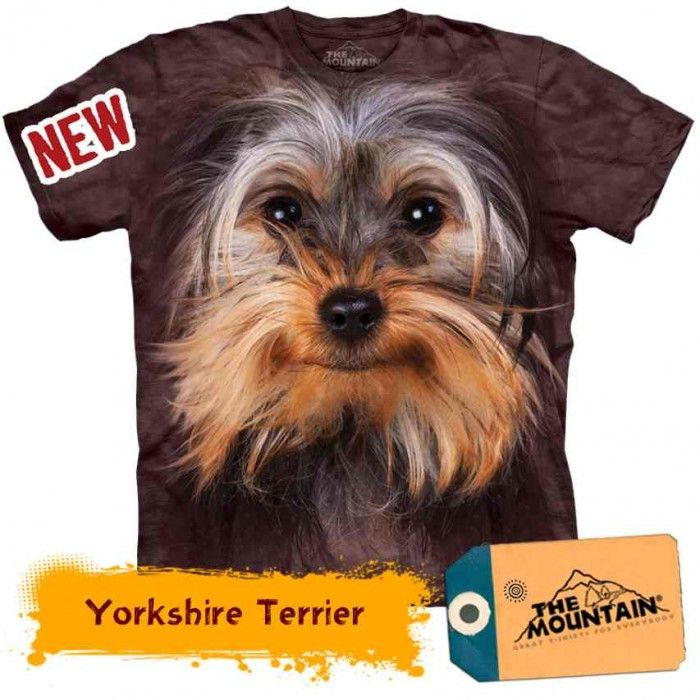 Tricouri The Mountain – Tricou Yorkshire Terrier Face