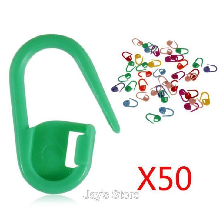 Пластик маркеры держатель игла клип ремесло 50 шт Mix Mini вязание вязка крючком блокировка стежка 50 шт купить на AliExpress