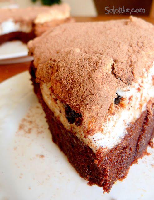 Solodke: Шоколадный торт с безе