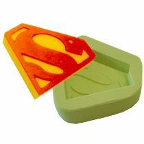 Forma Silicone Superman Super Homem Molde Biscuit Sabonete