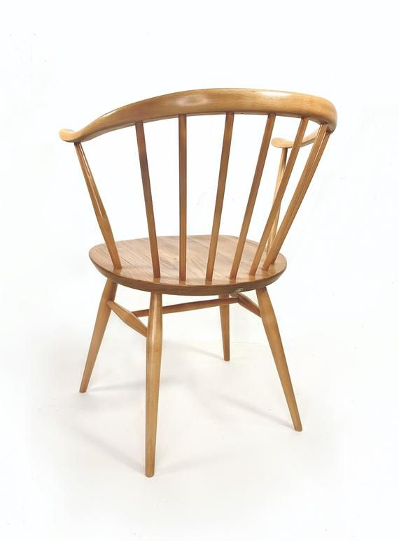 Ercol Cowhorn Dining Chair 6 Available Restored In 2020