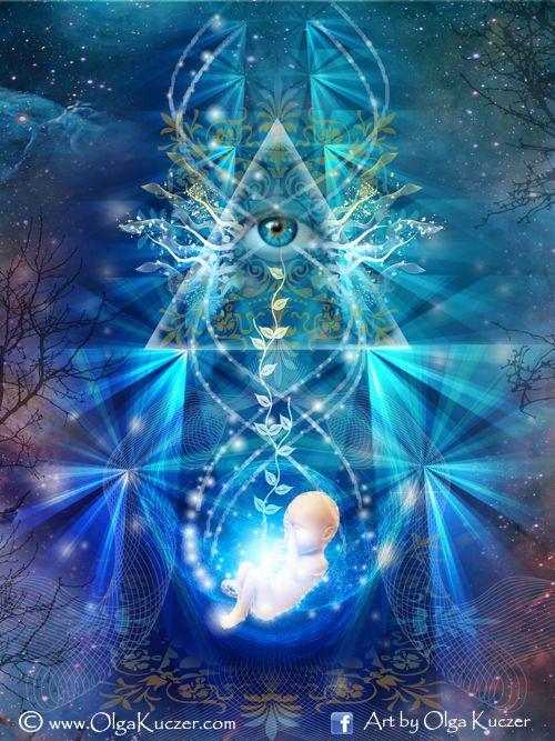 """Revival"" Eye of Osiris - Sacred Geometry"
