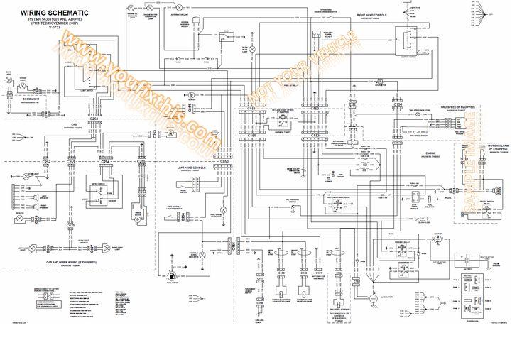 2008 Bobcat Wiring Diagram Diagrams Schematics Inside T190