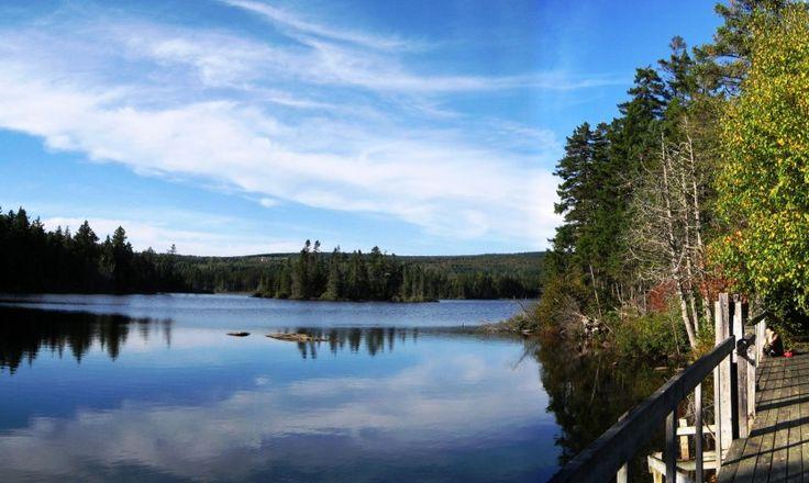 Les sentiers pédestres de Lac-Etchemin via Tourisme Chaudière-Appalaches