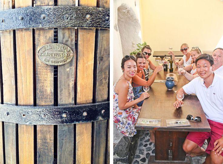 Sippin' Santorini Style: A Greek Wine Tour