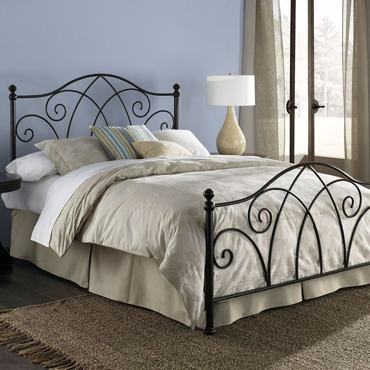 Fashion Bed Group Deland Sparkle California King Bed, Brown