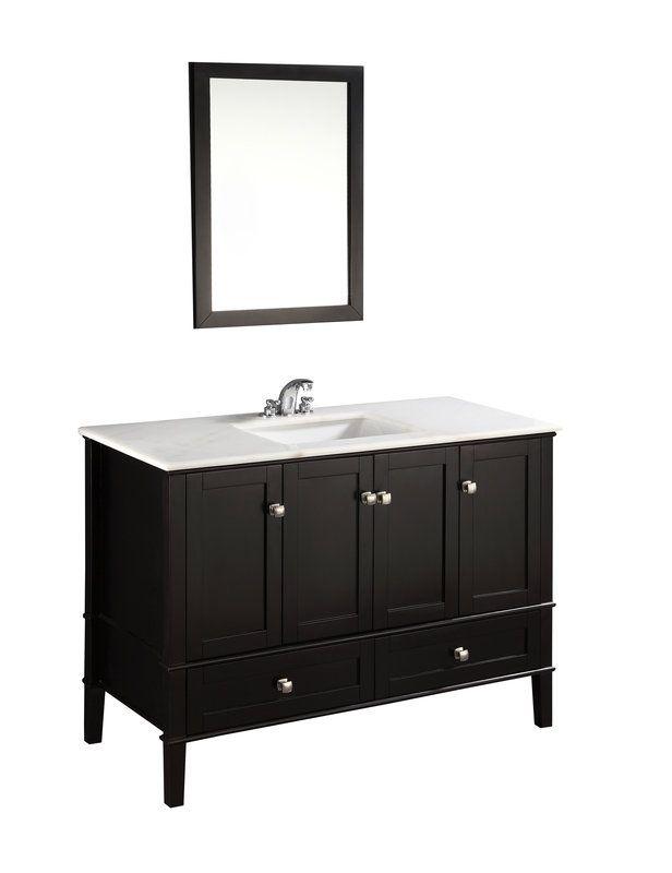 Simpli Home Chelsea Bathroom Vanity Cabinet