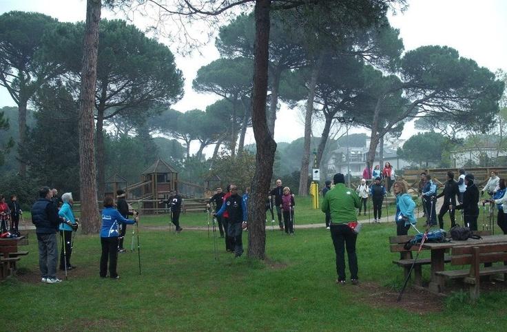 Il gruppo di Nordic Walking Ravenna.  www.slowsports.it