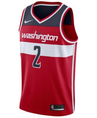 Nike Men's John Wall Washington Wizards Icon Swingman Jersey - Red XXL