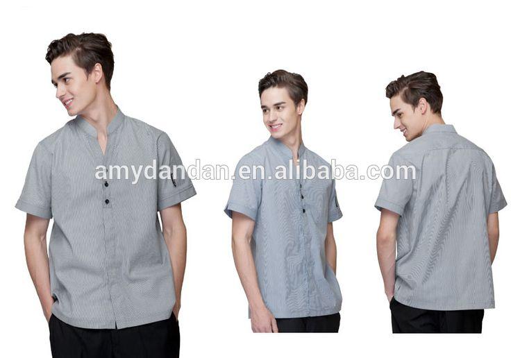 Personal de alta calidad uniforme, short mangas oficina uniforme ...
