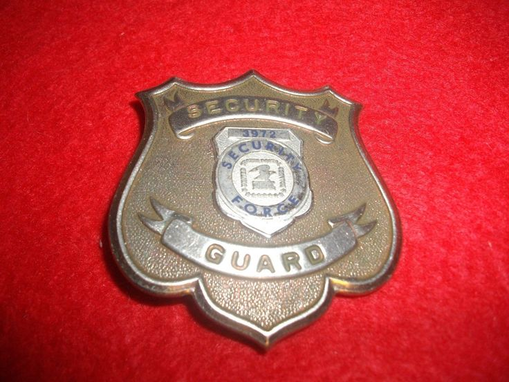 U.S.POST OFFICE SECURITY FORCE BADGE Badge, Security