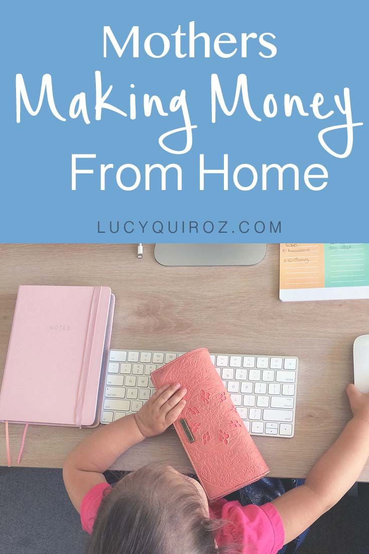 Mothers Making Money from Home - If I tell you there's a way to make money from the comfort of your home? Do you believe me? Ok, get ready, here are three options!