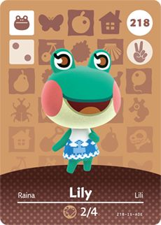 With the Animal Crossing™ amiibo catalog, you can search, browse, filter, and sort through the entire list of amiibo character cards and amiibo figures.