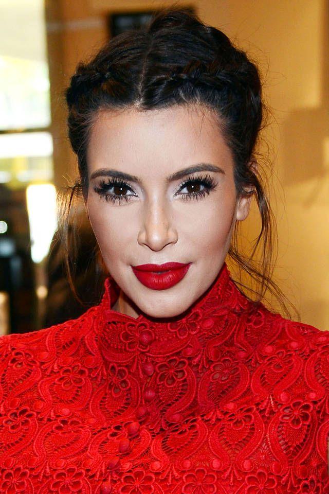 cheap leather handbag 11 Wedding Hair Ideas for Kim Kardashian
