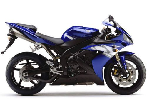 Glossy Blue White Black Injection Fairing Fit for YAMAHA 2004-2006 YZF R1 b17