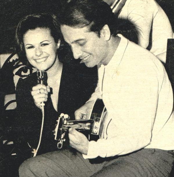 Elis Regina e Roberto Menescal