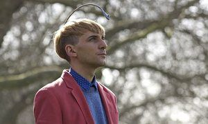 Neil Harbisson is an early cyborg artist and the few human to have an antenna implanted into his skull. This talks about him and his process.