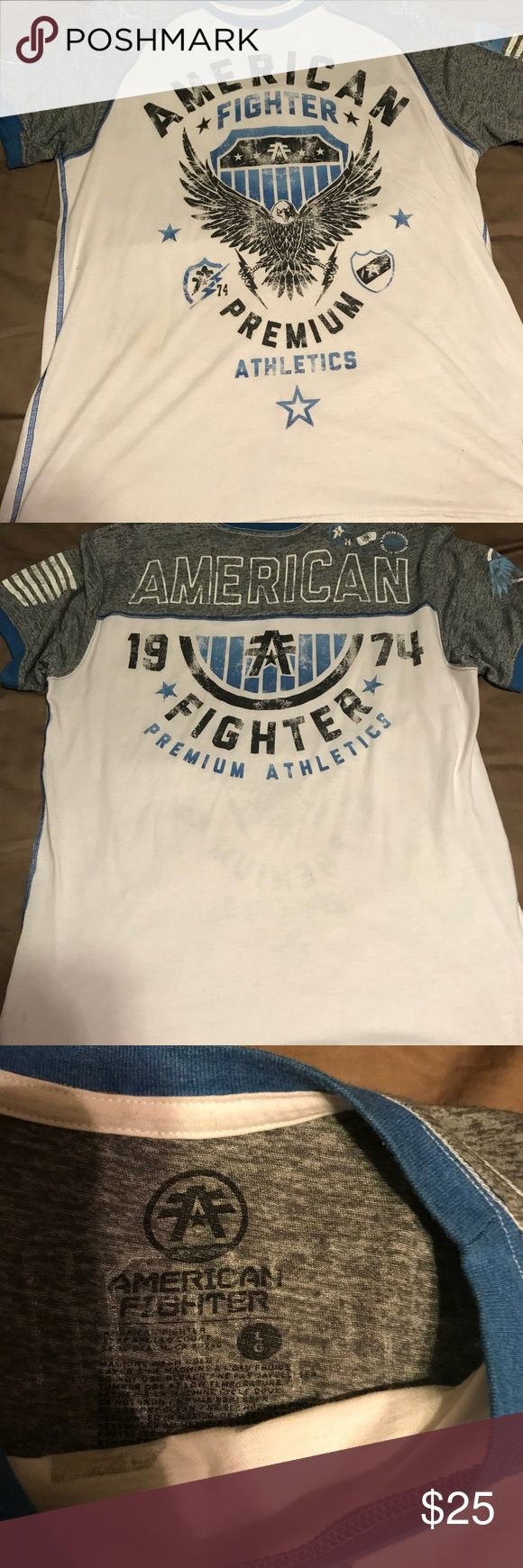 American Fighter T-Shirt Men's American Fighter T-Shirt American Fighter Shirts Tees - Short Sleeve