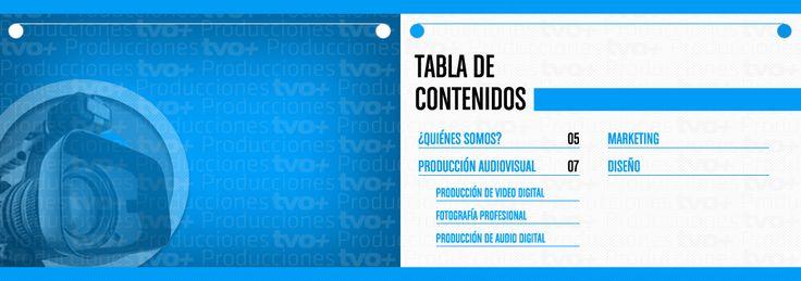 brochure TVOMAS PRODUCCIONES