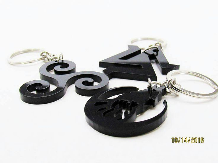 Customize Key chains in Acrylic material.