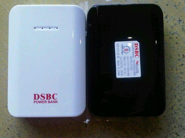 Powerbank 7800mAh Rp. 400.000,-