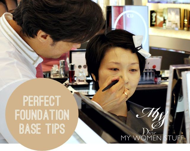 "A definate ""must read!""  foundation tips2 Fast, Easy, Effective Liquid Foundation Application Tutorial   5 Lines, 1 Perfect Base (Backstage Tip from Dior Makeup Artist Junior Cedeño)"