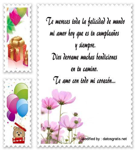 descargar mensajes bonitos de cumpleaños para mi enamorado,mensajes de texto de cumpleaños para mi enamorado: http://www.datosgratis.net/saludos-de-cumpleanos-para-mi-amor/