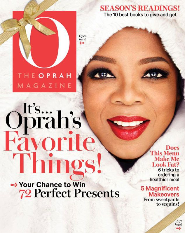 It's the best time of year! Oprah announces her favorite things