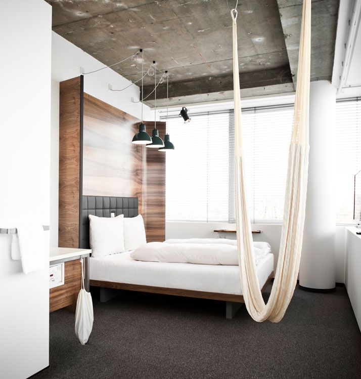 An amazing hotel in Vienna, Austria called HOTEL DANIEL.  It's focus is on design, style and functionality. Ideal for accommodating the modern-day traveler who prefers to travel light, it also provides guests with an open, uncomplicated lifestyle