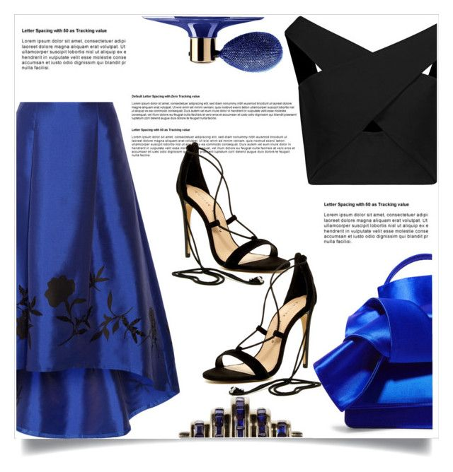 """""""Untitled #6671"""" by cassandra-cafone-wright ❤ liked on Polyvore featuring NOIR Sachin + Babi, Michelle Mason, N°21, Chinese Laundry and Guerlain"""