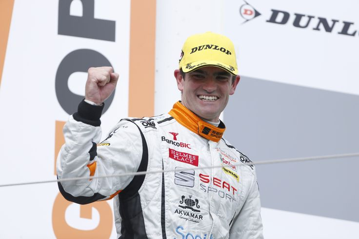 Manuel Giao arrived second in the second race at the Nürburgring in Germany