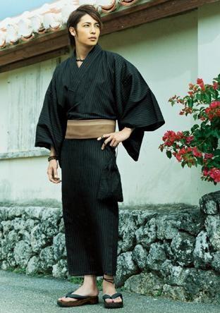 yukata kimono. For the boyfriend's gift this spring <3