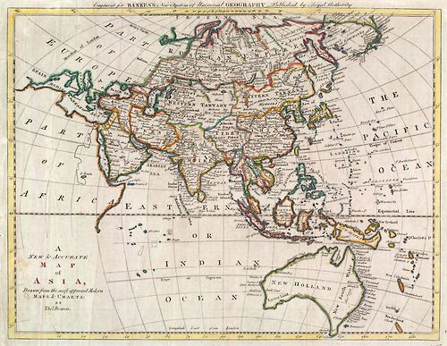 21 best maps images on pinterest old world maps antique maps and maps a new accurate map of asia part of the sea of korea maps collection in the usc digital library gumiabroncs Image collections