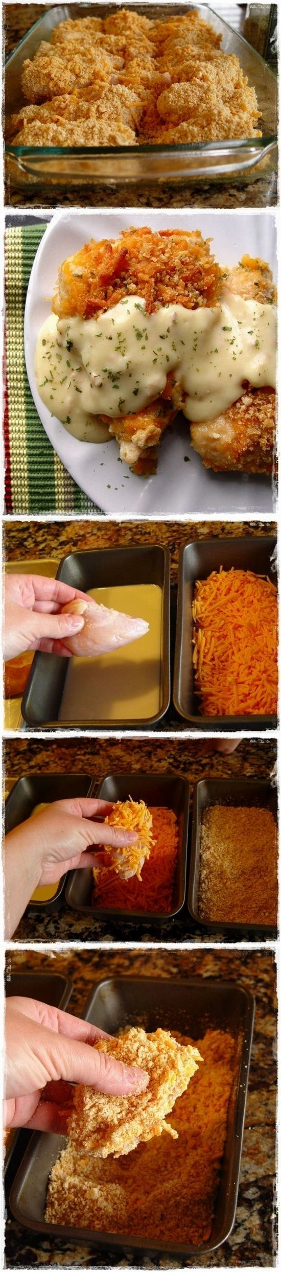 Crispy Cheddar Chicken.. Most Favorite Recipe I've Found On Pinterest!