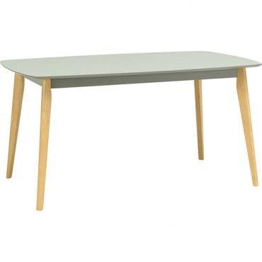 Arthur Dining Table - Light Grey - 150cm   $309.00 - Milan Direct