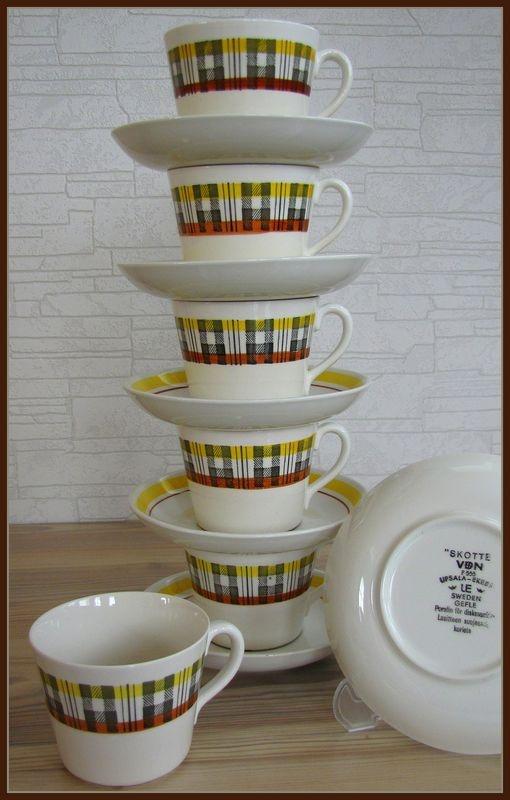 """Gefle """"SKOTTE"""" pattern, designed by Helmer Ringström"""