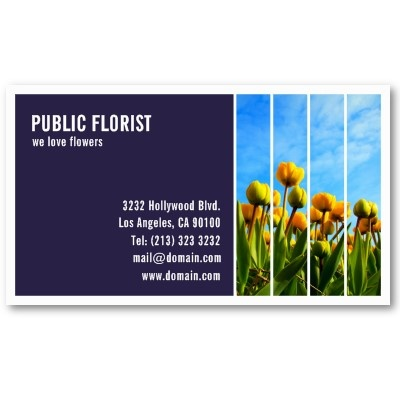 52 best distinctive business cards images on pinterest business photography business card design for florists gardeners and possibly landscaping artists colourmoves