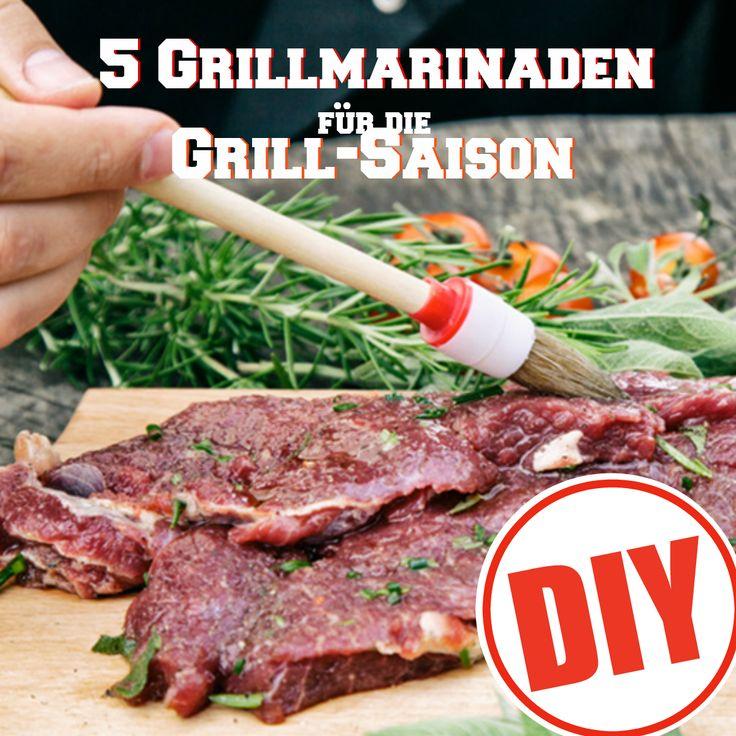 So einfach und so köstlich: 5 Grill-Marinaden zum Selbermachen. Das sind unser Favoriten: http://eatsmarter.de/ernaehrung/news/diy-marinaden-selbermachen
