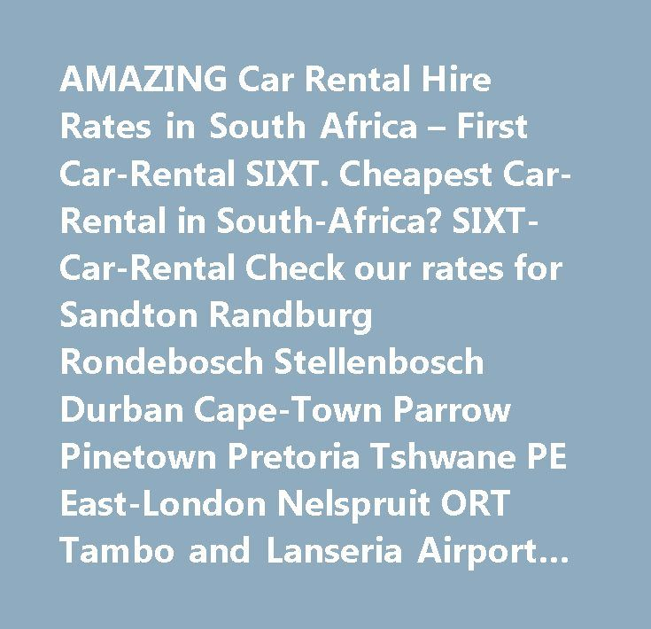 Cheapest Car Hire In Pinetown