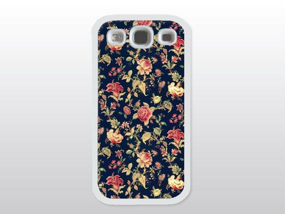 Floral Galaxy S3 Case Floral Chintz Samsung by GoldenDaysDesigns