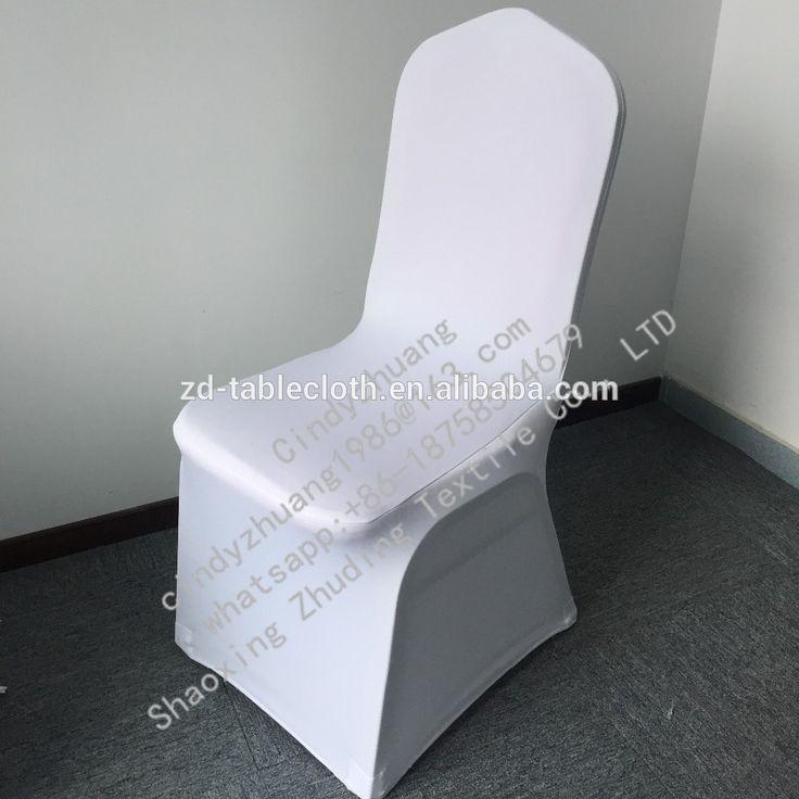 Cheap white chair cover spandex for sale