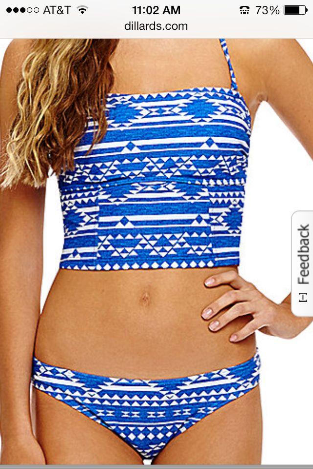 Cute midkini! Dillards swimsuits