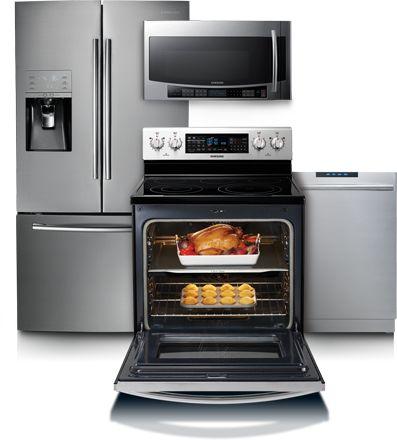 Samsung Kitchen Suite   For Trippu0027s Kitchen