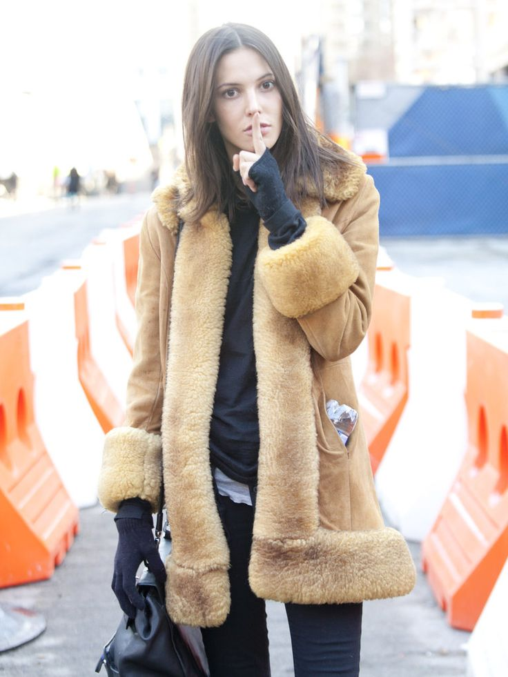 414 best Sheepskin coat images on Pinterest