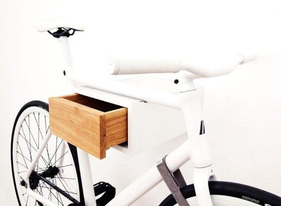 bike stand/drawer