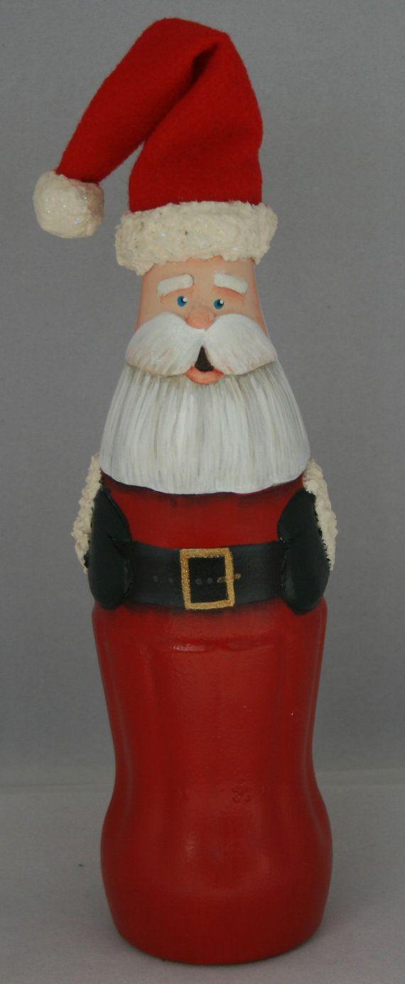 Coke Bottle Santa