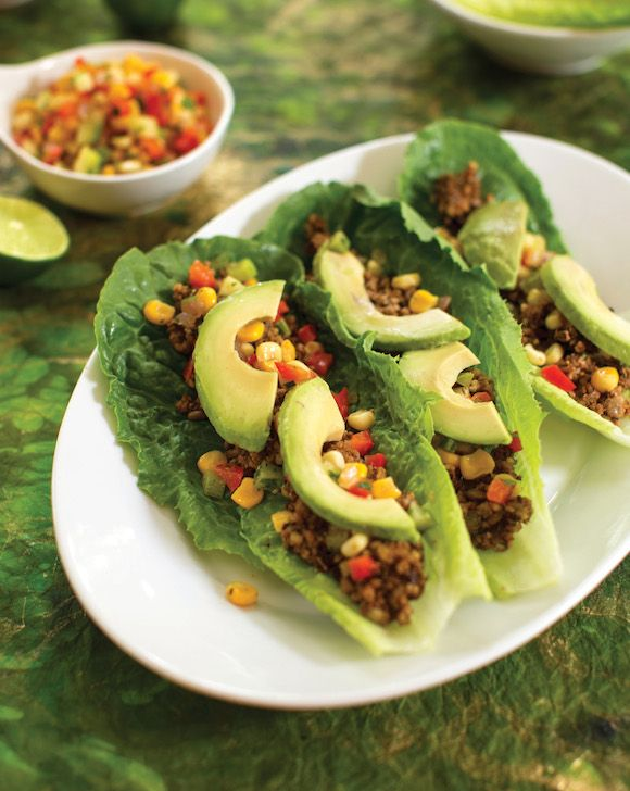 This post includes a recipe from Gena Hamsaw's cookbook, Choosing Raw, for Heat-Free Lentil Walnut Tacos.